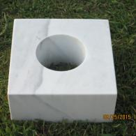 marble fower pot holder